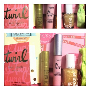 March Birchbox 2012 Teen Vogue